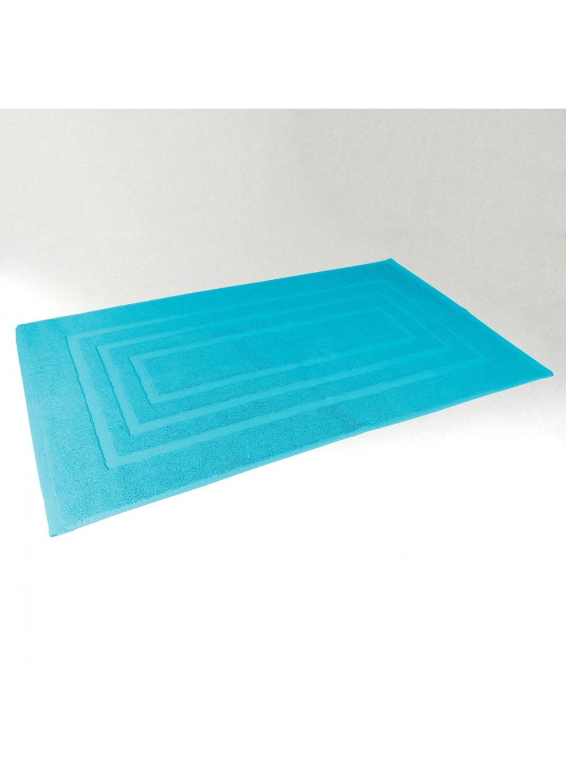 Tapis de Bain 50x85 cm Uni en Eponge (Turquoise)