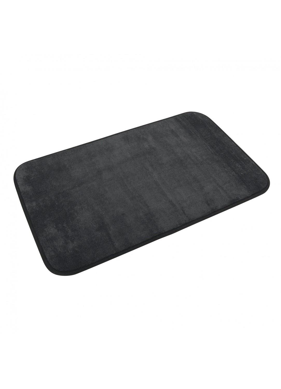 Tapis de Bain Uni en Microfibre  (Noir)