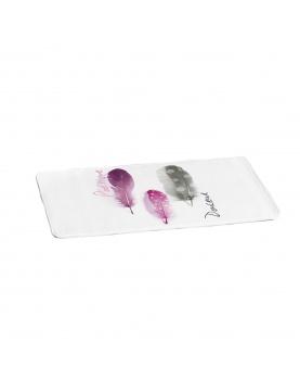 Tapis de Bain Poétique en Microfibre Design