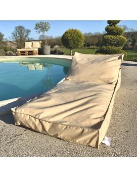 Housse de matelas bain de soleil
