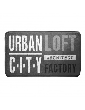Tapis de bain urban loft