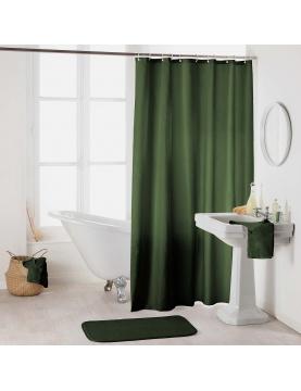 Rideau de douche en textile uni