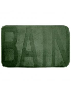 Tapis de bain en microfibre reliefé