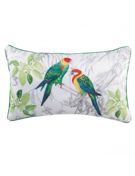 Coussin passepoilé Papagayo