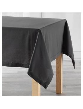Mantel rectangular de algodón unido