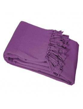 Sábana de sofá de algodón tejida