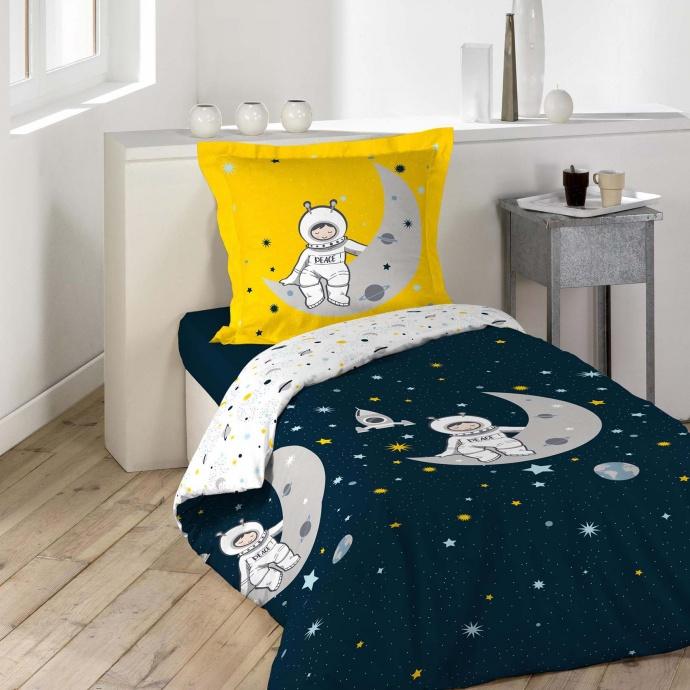 Parure de couette petit astronaute (Multicolors)