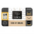 Tapis rectangulaire Lunch (Multicolors)