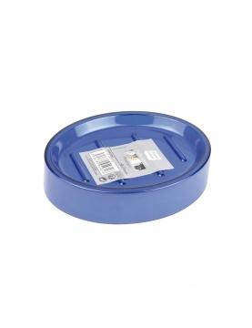 Porte savon en plastique translucide coloré