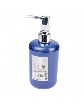 Distributeur de savon en plastique translucide coloré