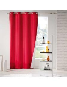 Rideaux Phoniques Thermiques Rouges Homemaison Vente En Ligne De