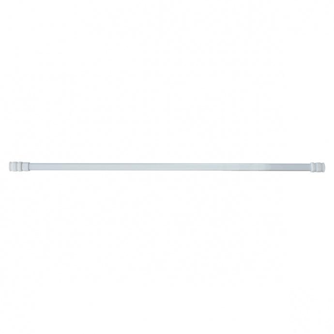 Tringle Ovale Extensible 13mm en Métal (Blanc)