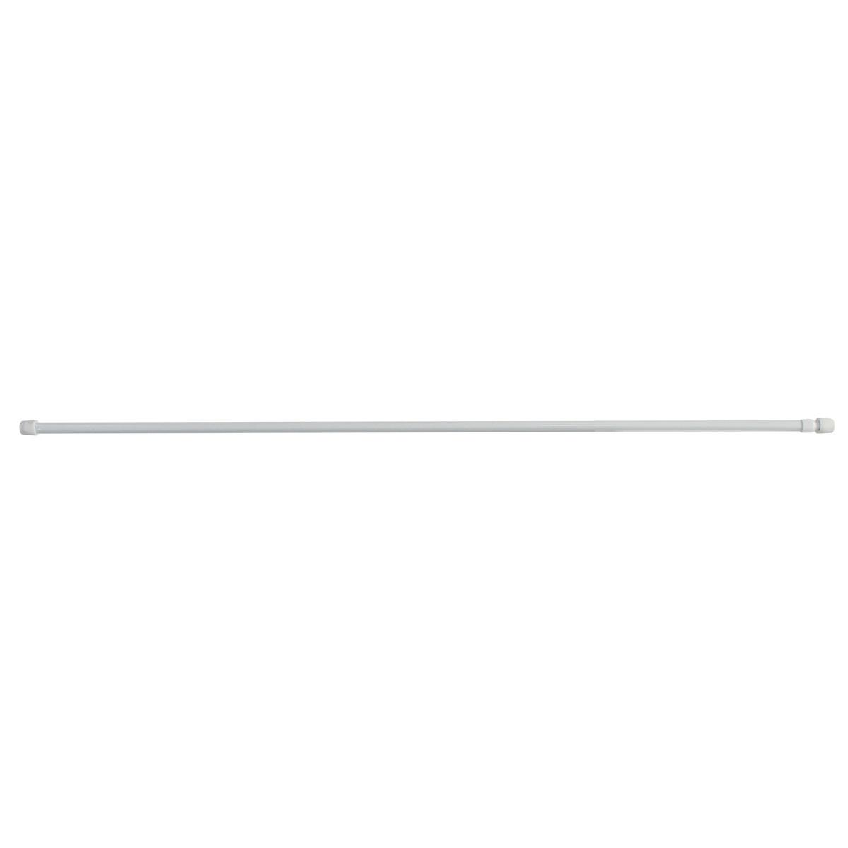 Tringle Auto-Bloquante Extensible 9mm en Métal (Blanc)