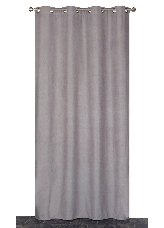 Rideau Coloré Isolant et Thermique  (Gris)
