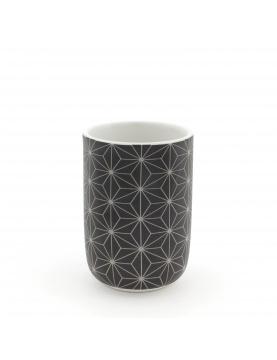 Gobelet en Céramique à Motifs Graphiques