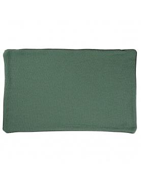 Housse de coussin en coton et chanvre