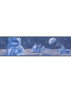 "Friso chico ""astronauta azul"""