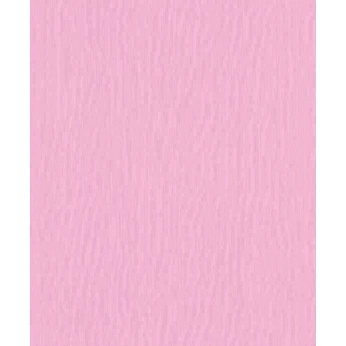 Papier Peint Uni avec Lignes Verticales (Rose)