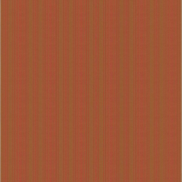 Papier Peint à Rayures Verticales effet Tissé (Ocre)