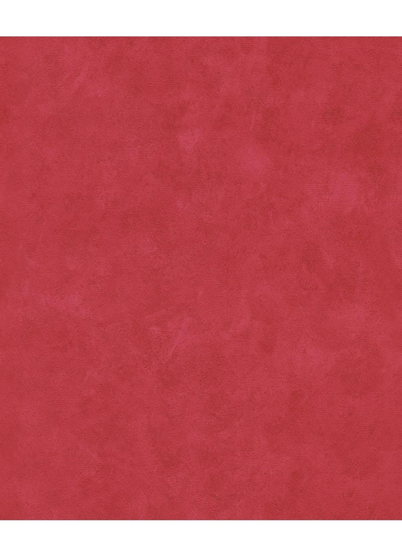 Papier Peint Uni légérement Patiné (Rouge)