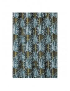 Tissu aux feuilles tropicales