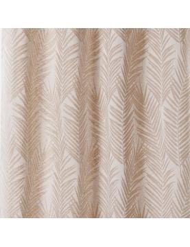 Tissu imprimé feuille de palmier