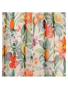 Tissu en voile imprimé Ananas