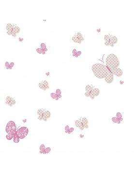 Papier peint imprimé papillons