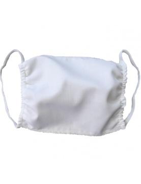 Lot de 50 masques homologué Afnor en tissu blanc