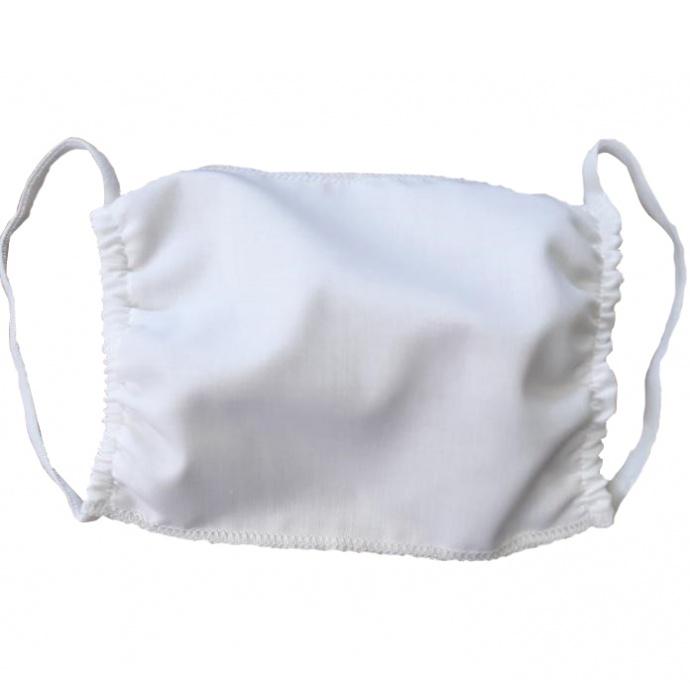 Lot de 5 masques lavable homologués Afnor en tissu (Blanc)