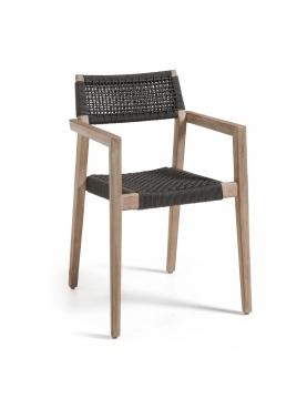 Ensemble de 4 chaises empilables