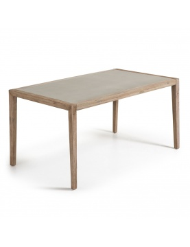 Table rectangulaire en poly-ciment