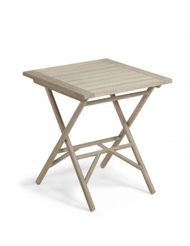 Table pliante en bois d'eucalyptus