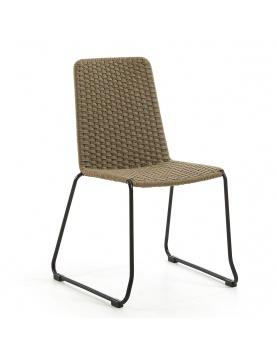 Ensemble de 4 chaises en corde