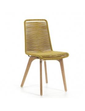 Lot de 2 chaises en corde à l'esprit scandinave