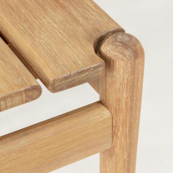 Table basse en bois d'eucalyptus  (Bois)
