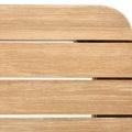 Table rectangulaire en bois d'eucalyptus (Bois)