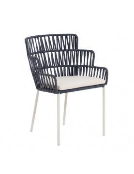 Lot  de 2 chaises exotiques