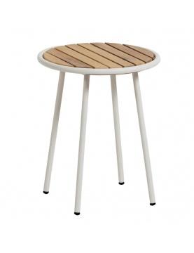 Table en lattes d'acacia massif
