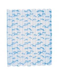 Rideau de Douche 'Albatros' Tissus 180x200 Bleu