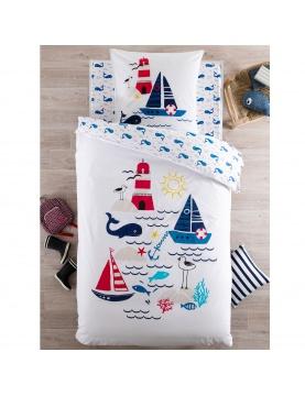 Parure de lit matelot