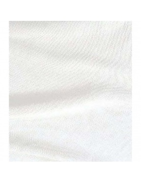 Tissu en bachette écru