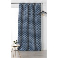 Rideau D'Ameublement Style Année 30 (Bleu Foncé)