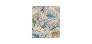 Tissu enduit imprimé palmiers