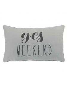 Coussin déhoussable week-end
