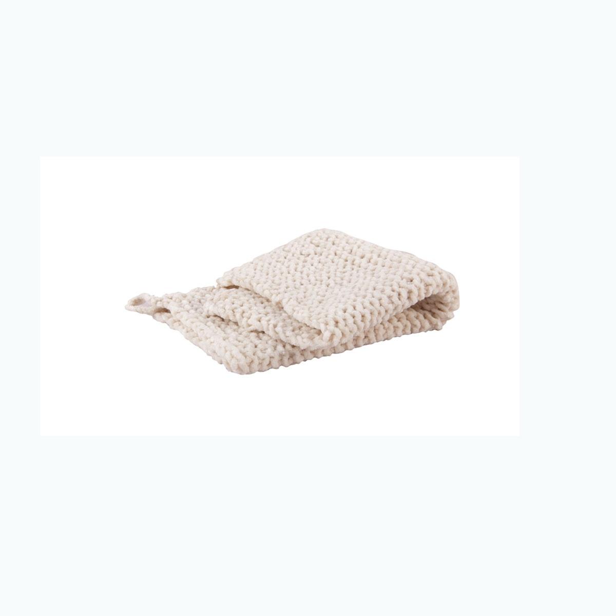 Serviette en coton chenillé (Naturel)