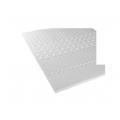 Surmatelas Profilé Epaisseur de 4cm  (Blanc)
