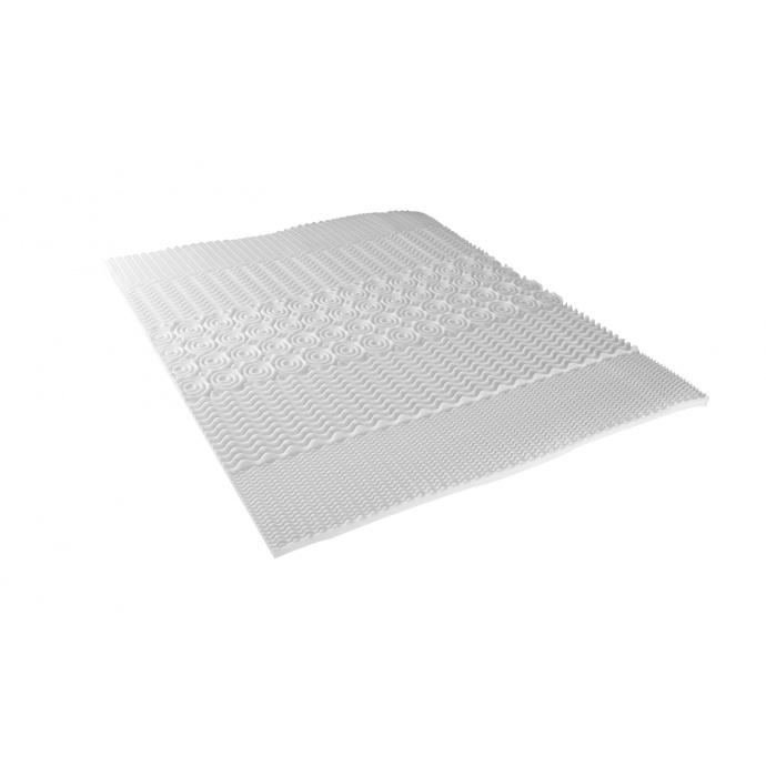 Surmatelas Profilé avec 5 Zones de Confort (Blanc)