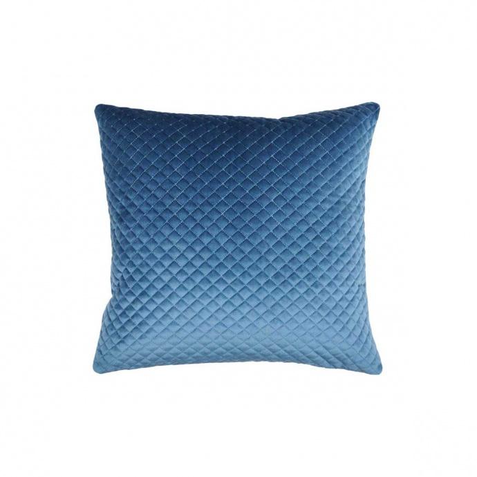 Coussin Effet Matelassé (Bleu)