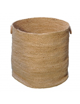 Panier à linge en fibre de maïs